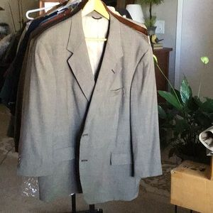 Men's Perry Ellis sports coat.Olive/Black size 42S